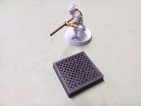 Scifi floor tiles - Meshed