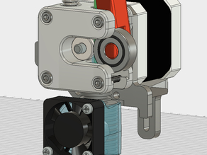 E3D v6 Direct Drive Mount for Solidoodle 2