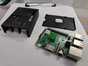 Raspberry Pi 3B+ Heatsink Case for Prusa mk3