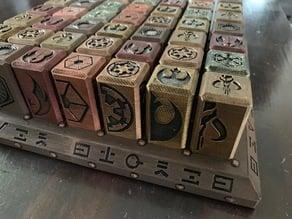 SEVEN STONES - A StarWars Boardgame