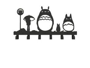 Totoro Coat Rack