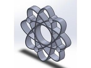 Hand Spinner Atomic