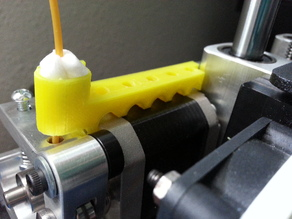 Printrbot Clip-On Filament Guide and Cleaner