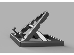 Collapsible/Adjustable Phone Stand