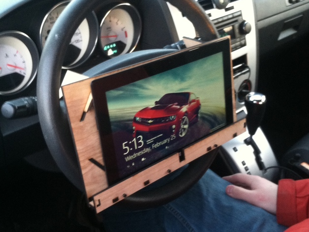 Microsoft Surface Pro Steering Wheel Mount By Wattendorf Thingiverse
