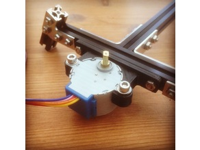 Mini stepper bracker for Makerbeam