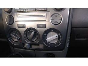 Mazda 2 Lüfter AC Klima Air Drehknopf / Knob