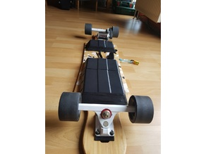 Electric Skateboard Battery Cover V2