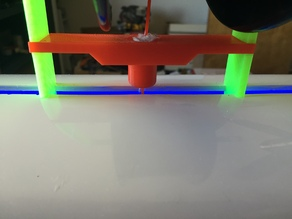 Spool Holder for Robo3D with Integrated Oiler