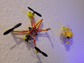 Micro-Copter Wall Mount