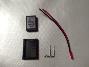 Battery Charging Adapter for the Kyosho dNano
