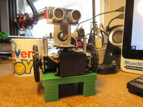 Parallax Activitybot Test Stand
