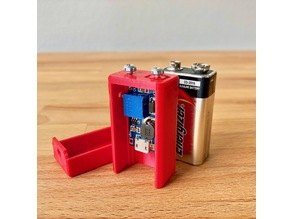 5v Micro USB to 9v Battery Adapter