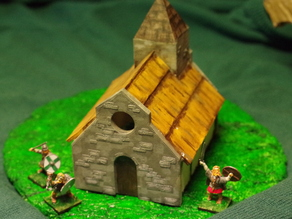 Saxon Burh Small Church