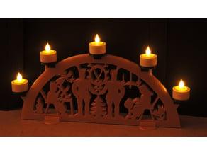 Schwibbogen - Candle Arch