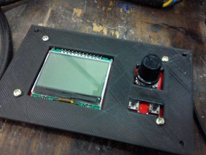 LCD box for Minipanel by makerlab.me