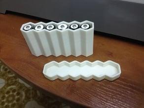 Batteries case for 6x AA 1.5v batteries