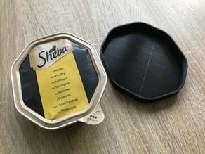 Sheba Catfood lid